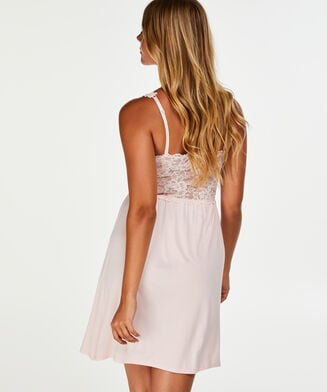Nuisette Modal Lace, Rose