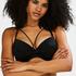 Haut de bikini à armatures préformé Sunset Dream, Noir
