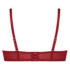 Soutien-gorge à armatures préformé bretelles amovibles Mara, Rouge