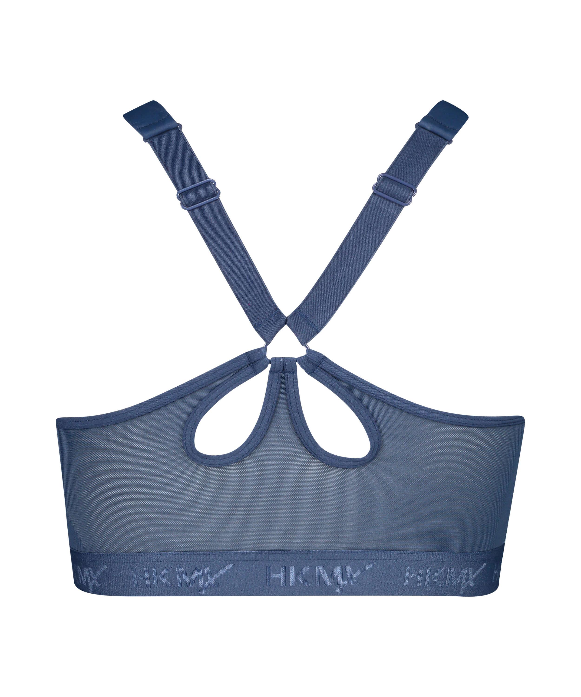 HKMX Soutien-gorge de sport The Pro Maintien niveau 3, Bleu, main