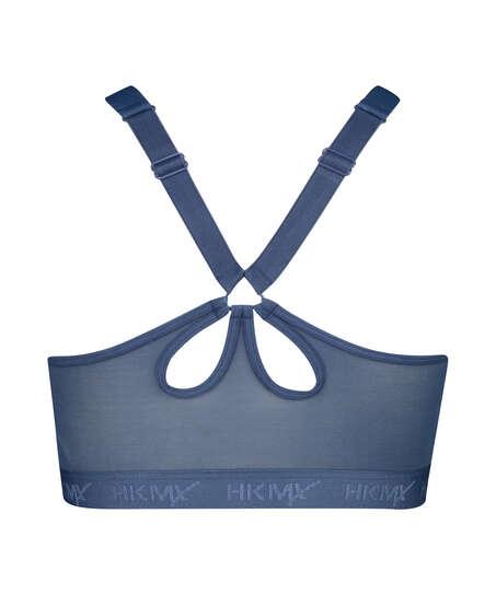 HKMX Soutien-gorge de sport The Pro Maintien niveau 3, Bleu