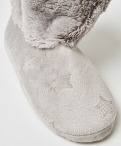 Chaussons Etoile, Gris