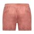Shorts Velours Pocket, Roze