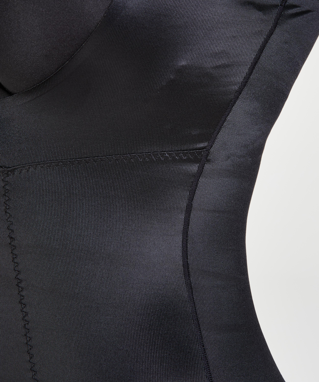 Robe sculptante en dentelle scuba - Level 3, Noir, main