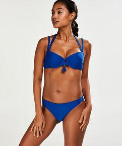 Laag cheeky bikinibroekje Amanda Queen, Blauw