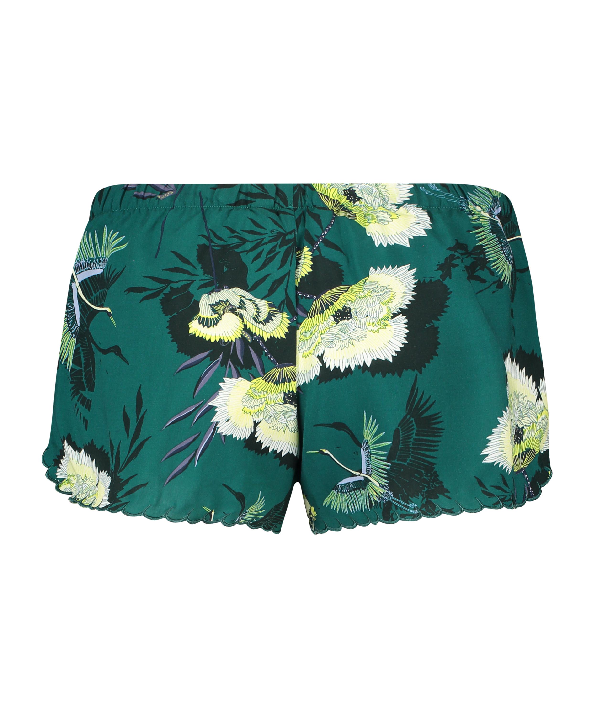 Pyjama shorts, Grijs, main