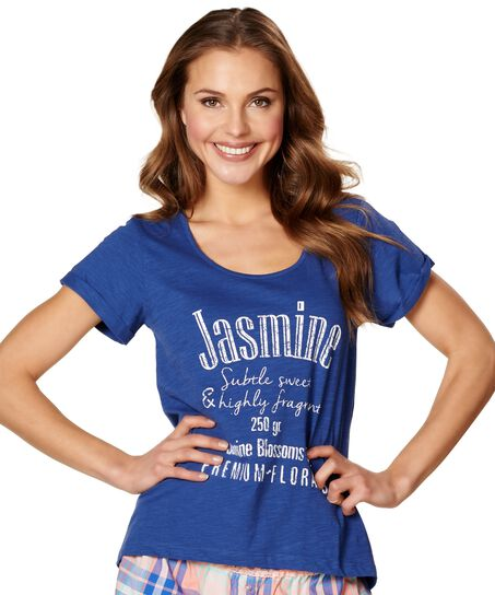 Top Jasmine, Blauw