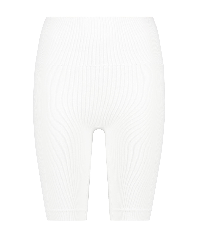Short cycliste Bae, Blanc, main