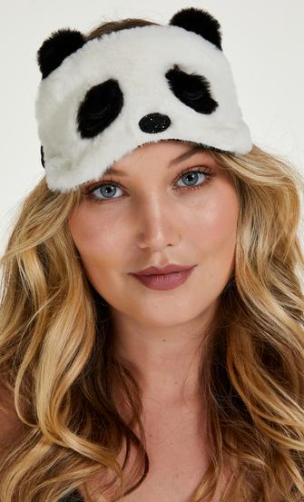 Slaapmasker Cute Panda, Wit