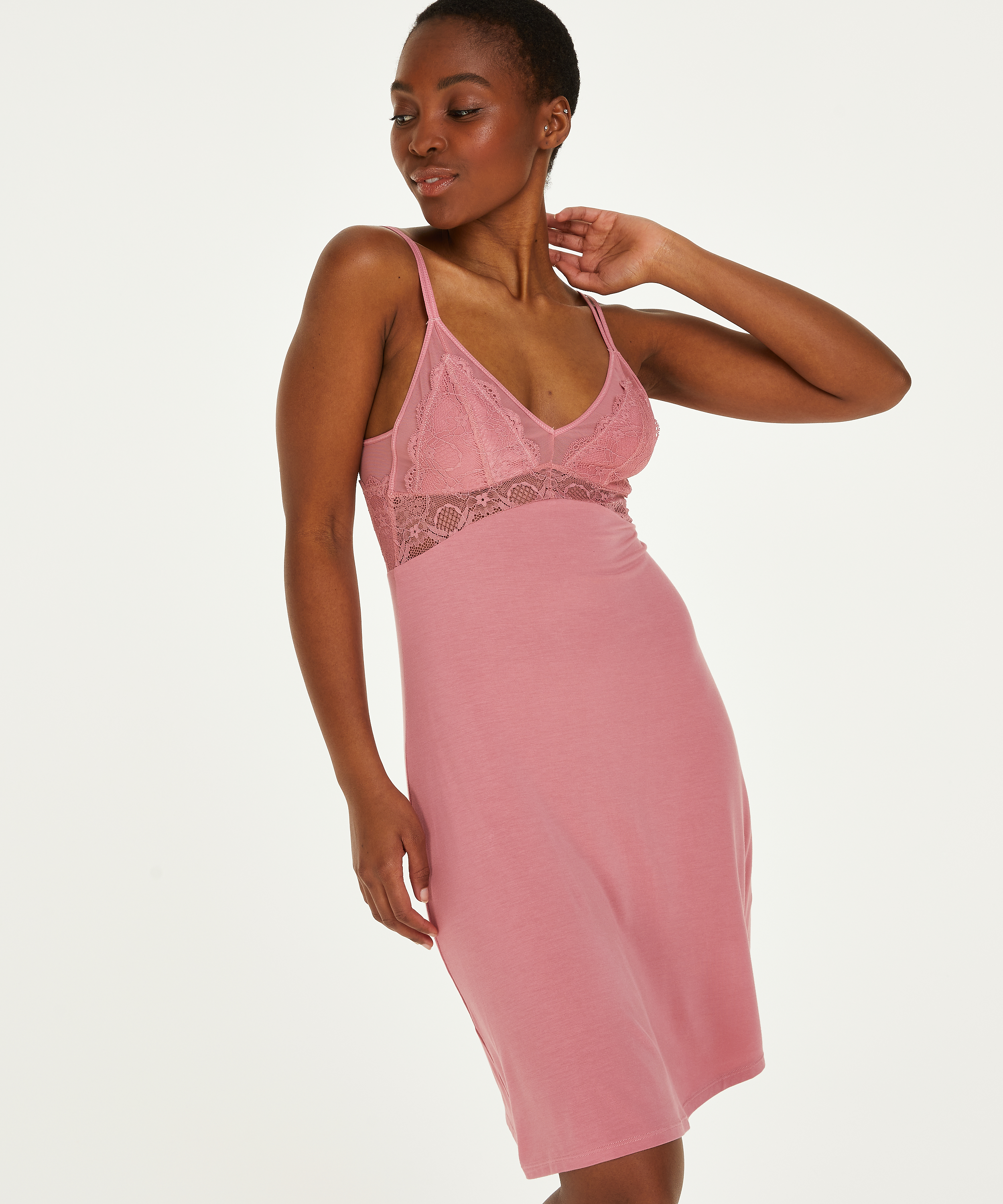 Nuisette Jersey Coco, Rose, main