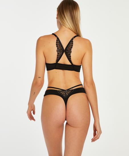 Soutien-gorge push-up à armatures préformé Coco, Noir