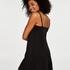 Fond de robe lissant en dentelle - Level 1, Noir