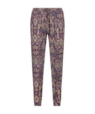 Petite pyjamabroek Multi Paisley, Blauw