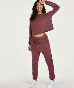 Tall Jogger Sweat French, Roze