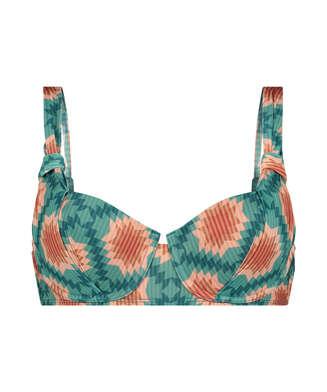 Haut de bikini rembourré à armatures Paramaribo I AM Danielle, Blanc