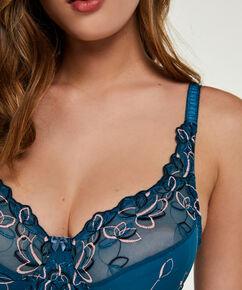 Soutien-gorge à armatures non-préformé Diva, Bleu