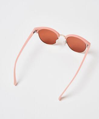 Zonnebril Mirror, Roze