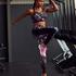 HKMX High waisted sport legging, Zwart