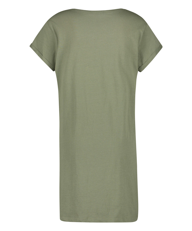 Chemise de nuit Dreamer, Vert, main