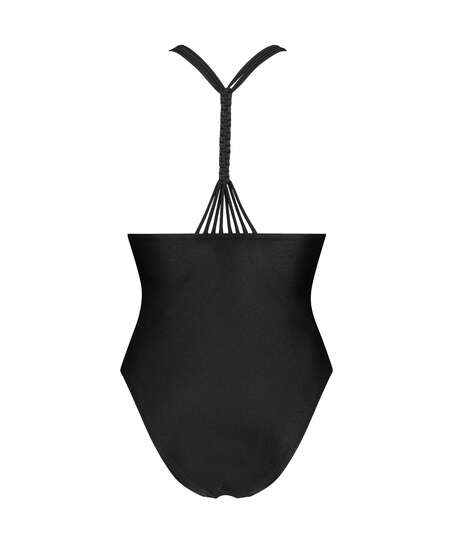 Badpak Macrame, Zwart