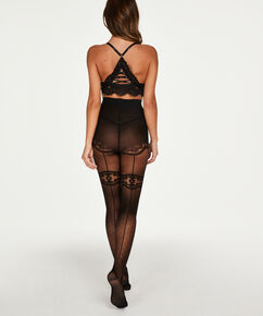 Panty 30 denier Doutzen, Zwart