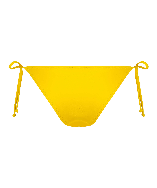 Bas de bikini brésilien tanga Napa, Jaune, main