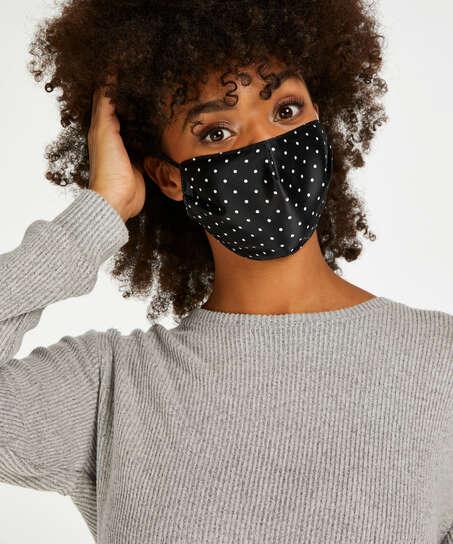 Masque Satin, Noir