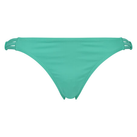 Slip de bikini low Cinderella, Vert
