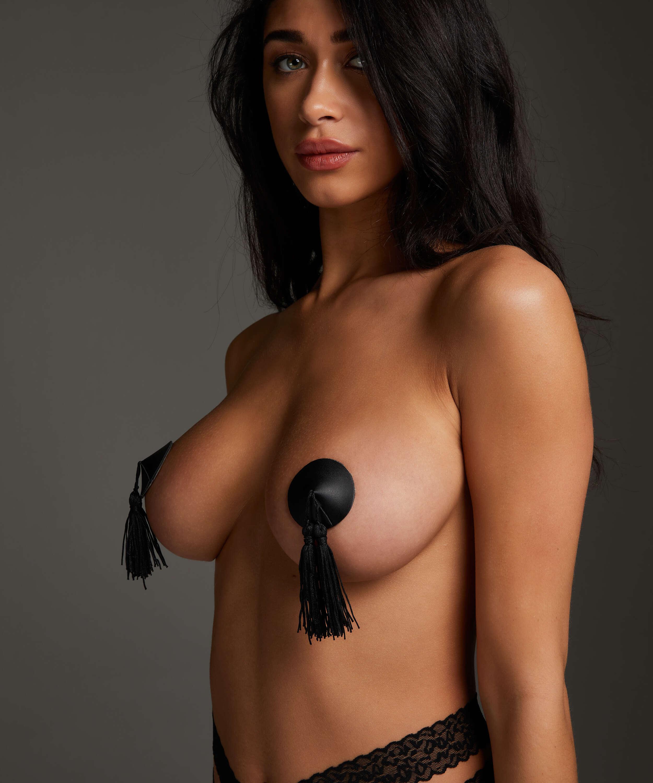 Nipple covers Private Kwast, Zwart, main
