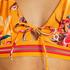 Haut de bikini triangle Orchid, Jaune