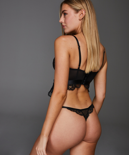String Heather, Zwart