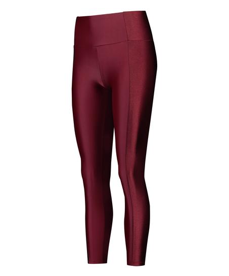 Legging de sport taille haute HKMX Shine On, Rouge