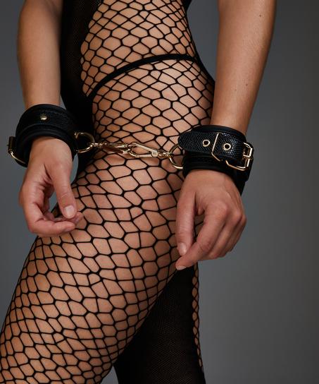Handboeien Snake , Zwart