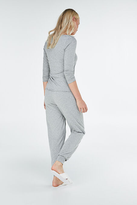 Pyjama long, Gris