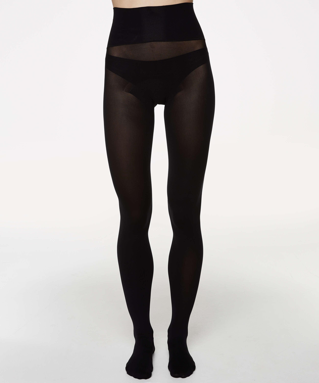 Panty 60 Denier Velvet Touch, Zwart, main