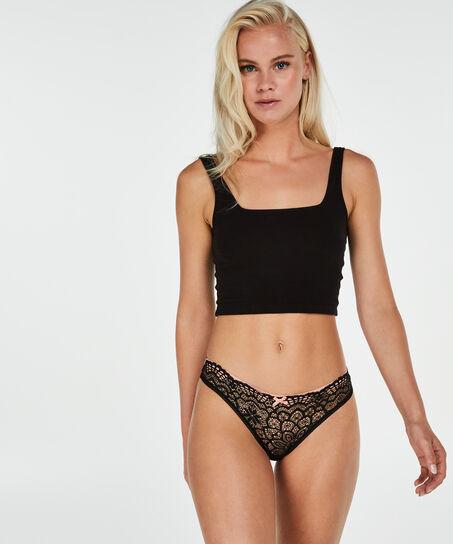 Regular string Tia, Zwart