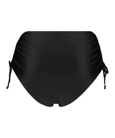 Hoog Brazilian bikinibroekje Lais, Zwart