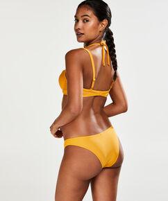 Laag cheeky bikinibroekje Amanda Queen, Geel