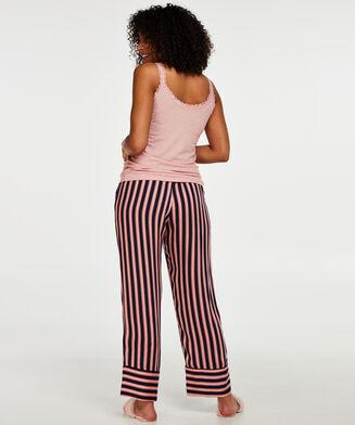 Pyjamabroek Woven, Roze