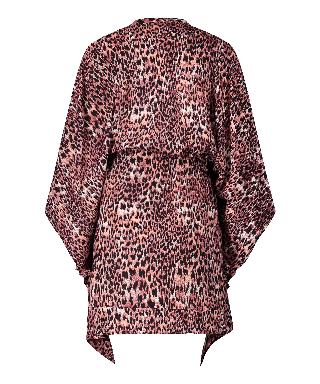 Tuniek Leopard Rose, Bruin, main