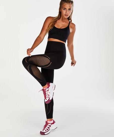Legging de sport taille haute HKMX, Noir