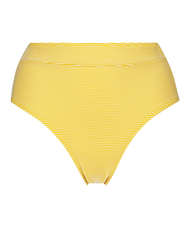 Hoog Brazilian bikinibroekje Carmel, Geel, main