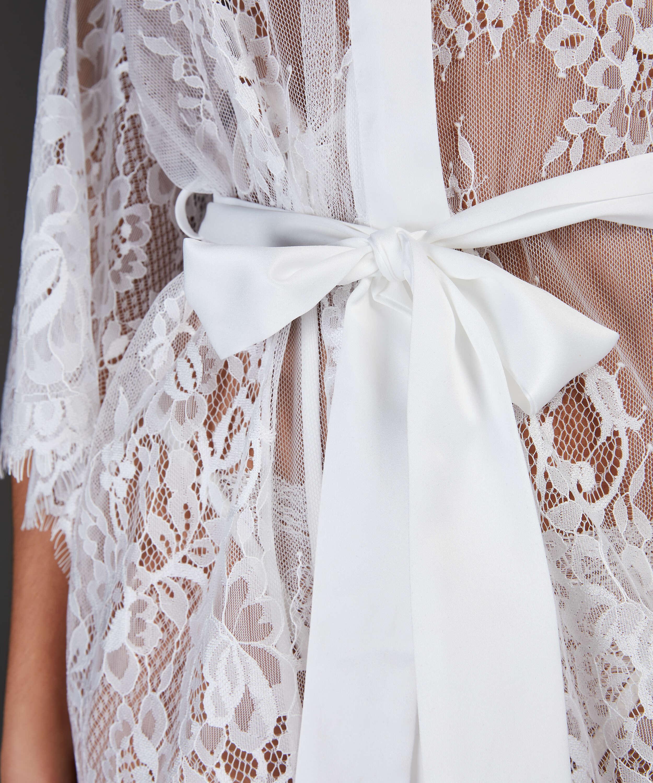 Kimono Lace Isabelle, Wit, main