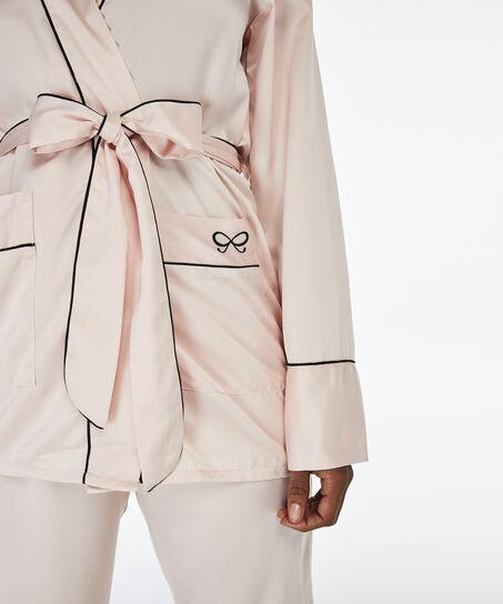 Haut de pyjama Satin, Rose