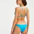 Triangle bikinitop Celine, Blauw