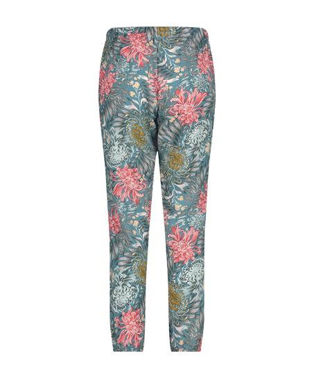 Petite pyjamabroek Woven, Groen