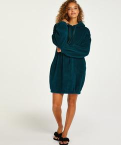 Snuggle Fleece Jurk Oodie, Blauw