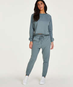 Tall Jogger Sweat French, Groen