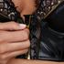 Soutien-gorge à armatures push-up préformé longline Talia, Noir