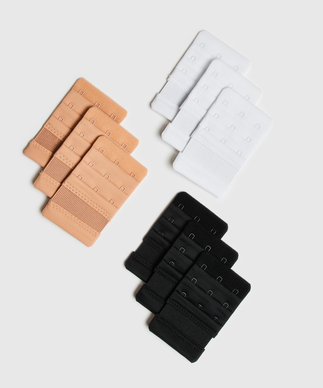Rallonge de soutien-gorge 3 crochets, Blanc, main